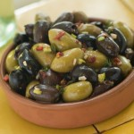 Black and Green Olives - Stuffed Mushrooms - Tonytown.com